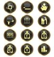Money business icon set vector