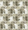 Old seamless pattern of tiles vector