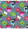 Cute cartoon seamless pattern vector