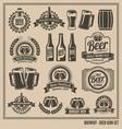 Beer icon set vector