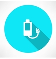 Battery power efficiency vector
