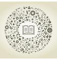 Book of sciences vector