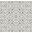 Seamless pattern with decorative ornament vector
