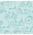 Baby bicycle background vector