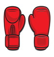 Boxing gloves4 vector