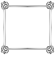 Frame element for design vector