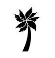 Tree palm vector