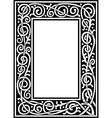 Fancy frame vector