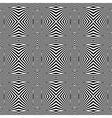 Design seamless monochrome convex lines background vector