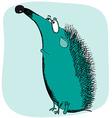 Sad hedgehog vector