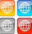 World buttons vector