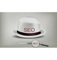 Seo white hat vector