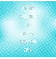 Creative merry christmas background vector