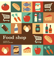 Food shop vector