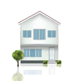 Beautiful house vector