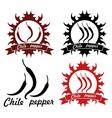 Chile pepper vector