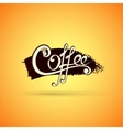Coffee label for your logo vector