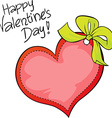 Happy valentines day - freehand inscription vector