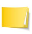 Sticky note vector