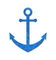 Blue mosaic anchor vector