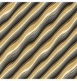 Wavy stripes vector