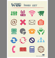 Finance and internet icons set vector