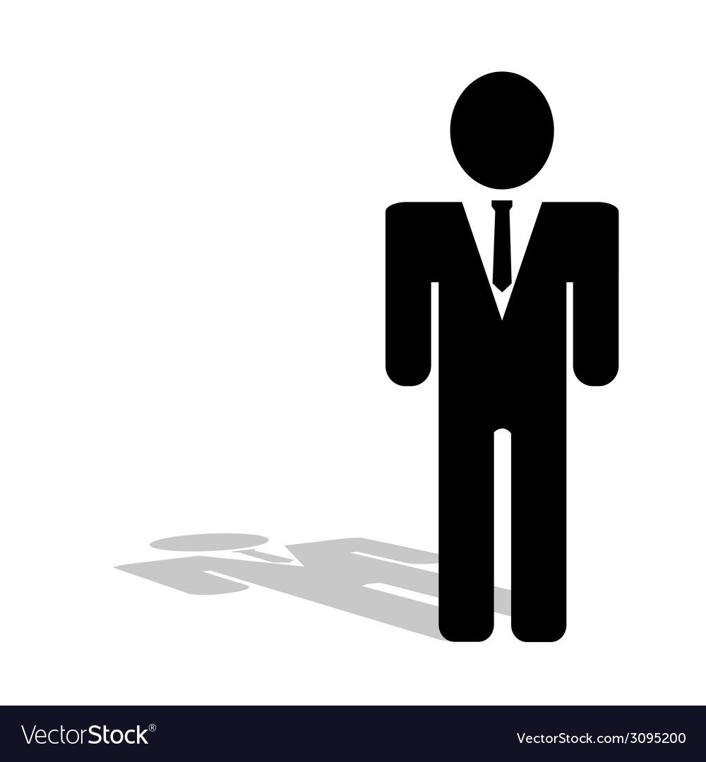 Business people icon silhouette vector | Price: 1 Credit (USD $1)