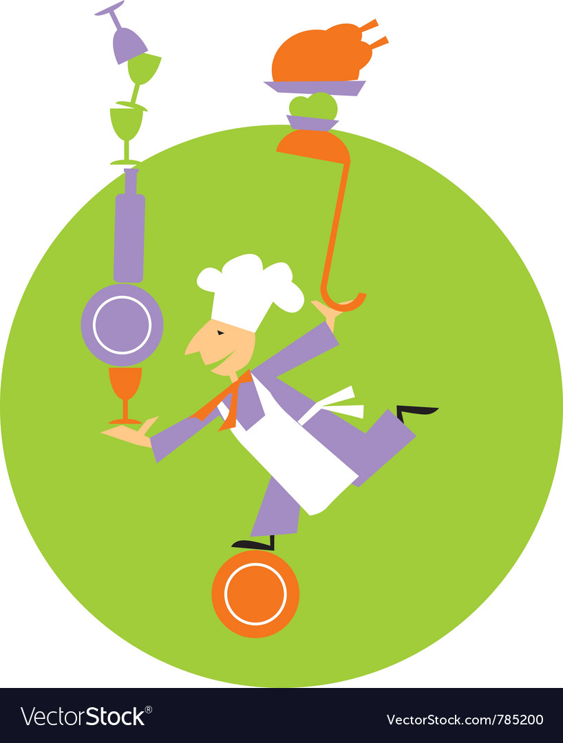 Chef equilibrium vector | Price: 1 Credit (USD $1)