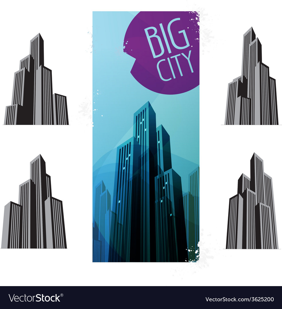 City icons vector   Price: 1 Credit (USD $1)