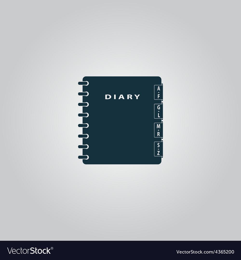 Organizer icon vector | Price: 1 Credit (USD $1)