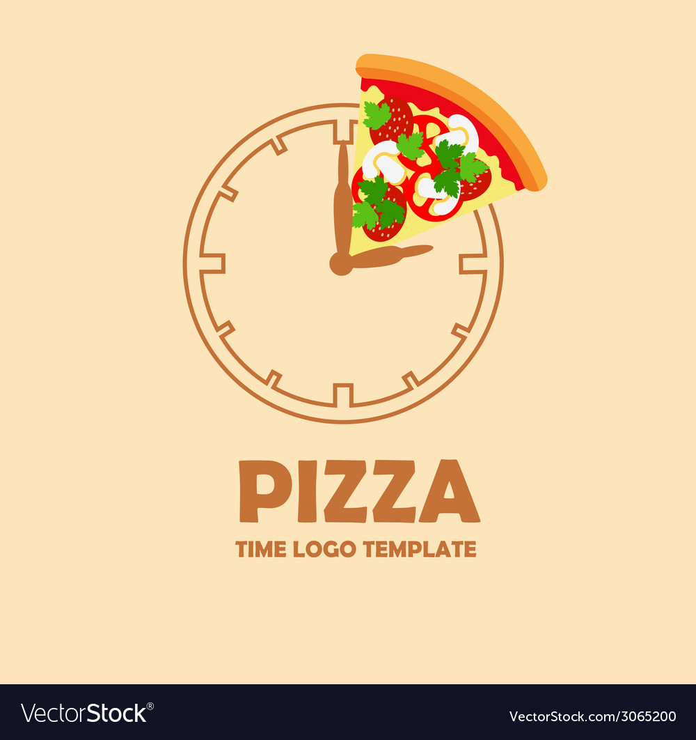 Pizza logo design template vector   Price: 1 Credit (USD $1)