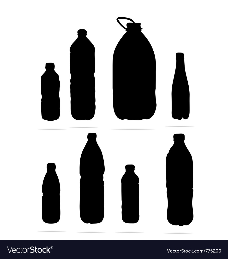 Plastic bottles symbols vector | Price: 1 Credit (USD $1)