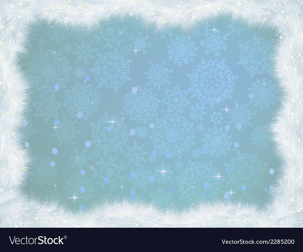 Winter christmas card background eps 8 vector | Price: 1 Credit (USD $1)