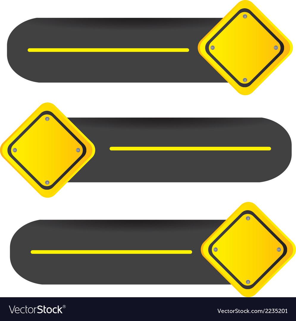 Road signal vector | Price: 1 Credit (USD $1)