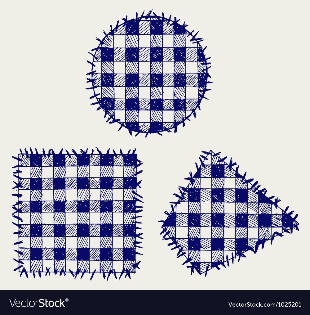 Set patchwork vector | Price: 1 Credit (USD $1)