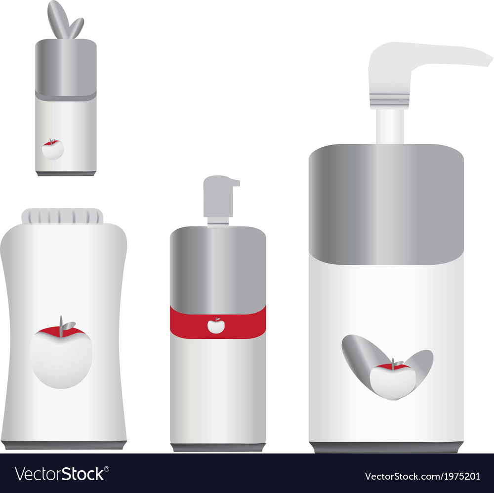 Vi bottles vector | Price: 1 Credit (USD $1)