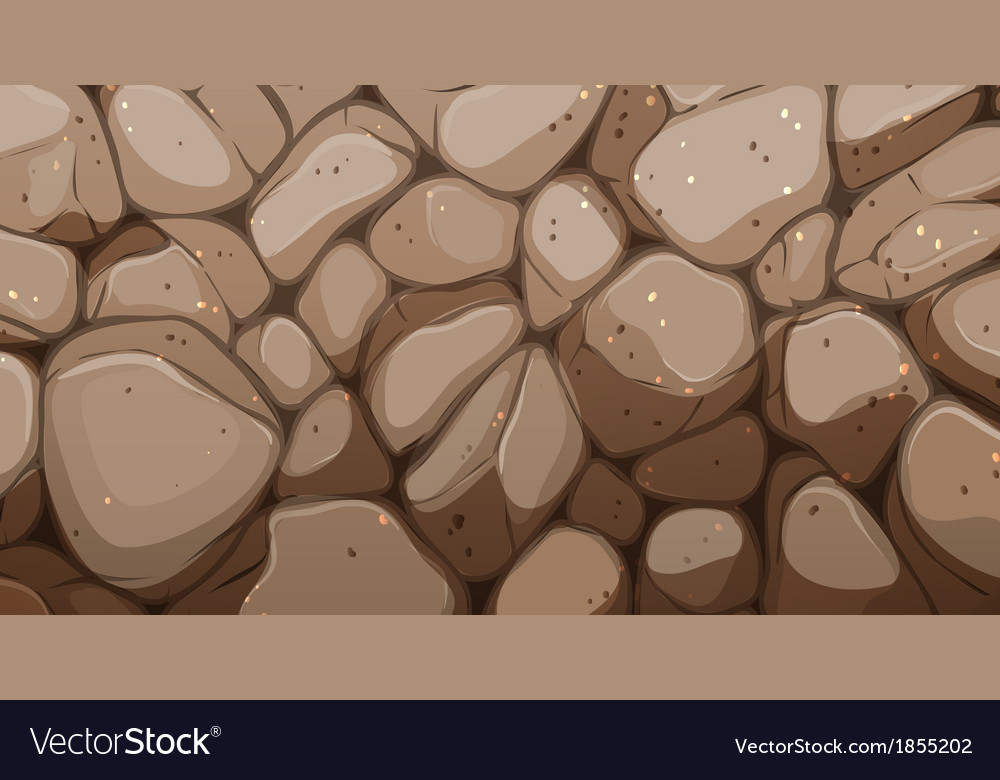 Brown stonewall vector | Price: 1 Credit (USD $1)