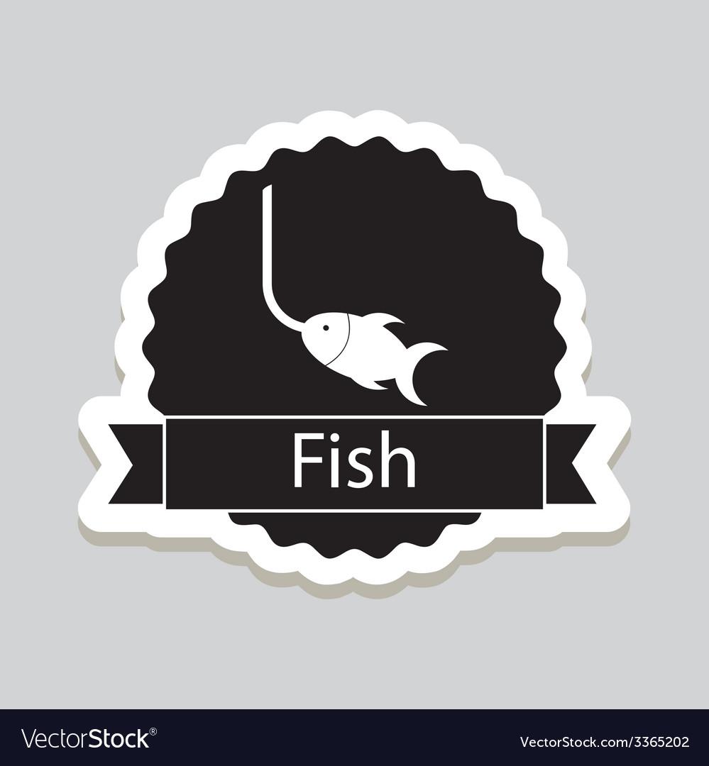 Fish design vector | Price: 1 Credit (USD $1)