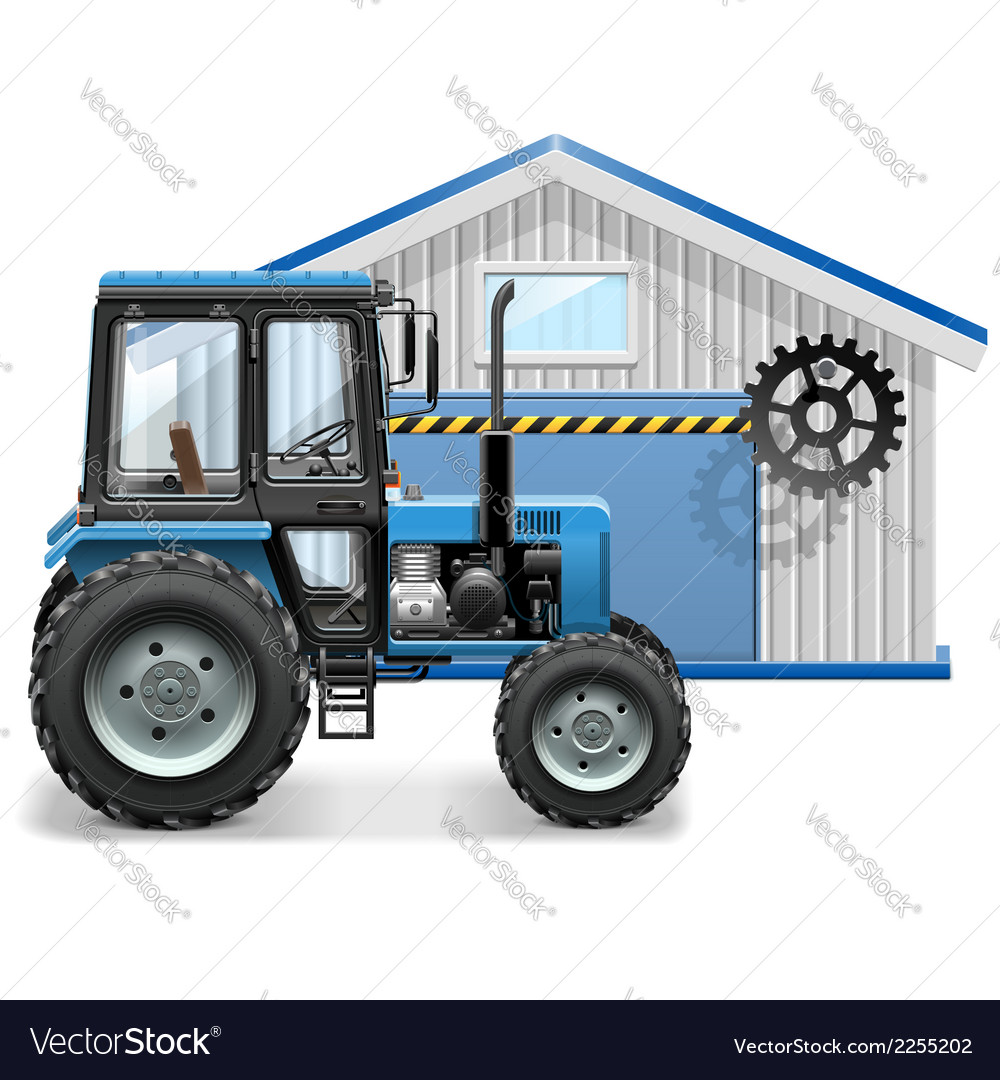 Tractor repair concept vector | Price: 3 Credit (USD $3)