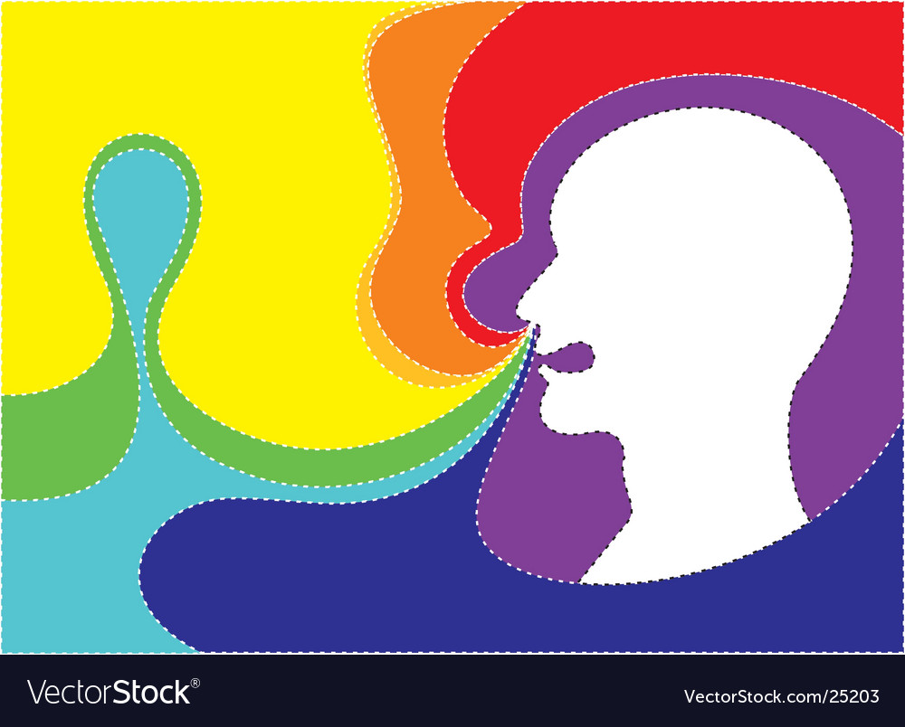Colorful smell vector | Price: 1 Credit (USD $1)