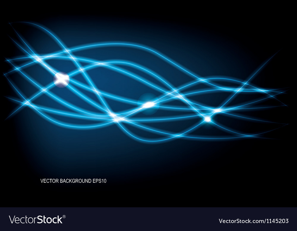Luminescent lines vector | Price: 1 Credit (USD $1)