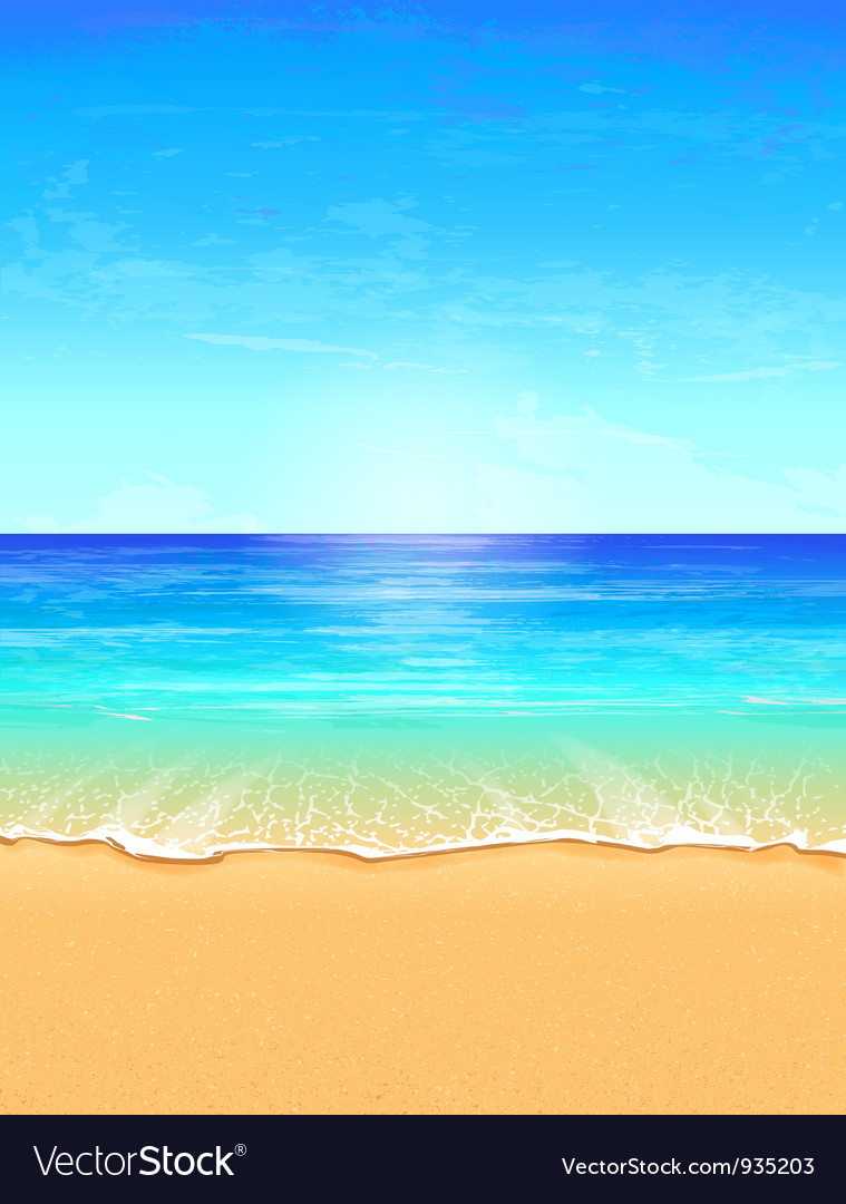 Seascape vector | Price: 3 Credit (USD $3)