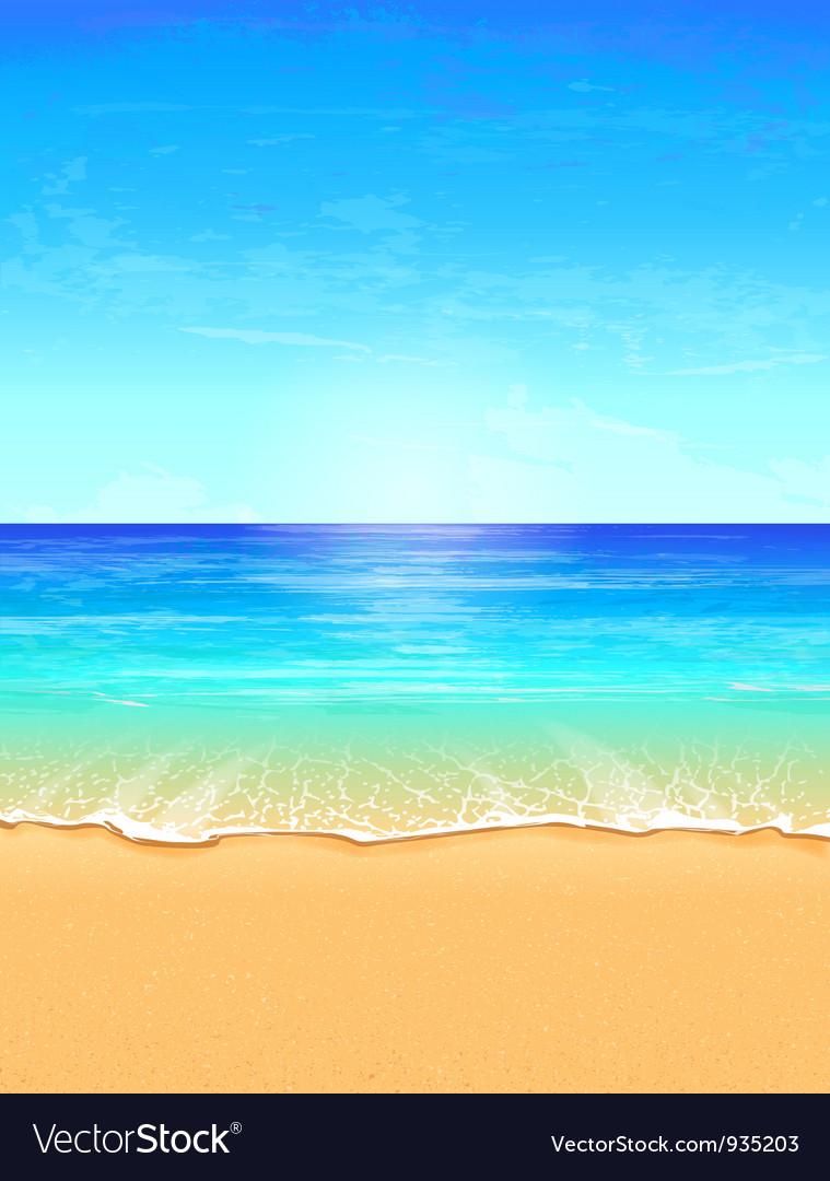 Seascape vector | Price: 3 Credit (USD $3)