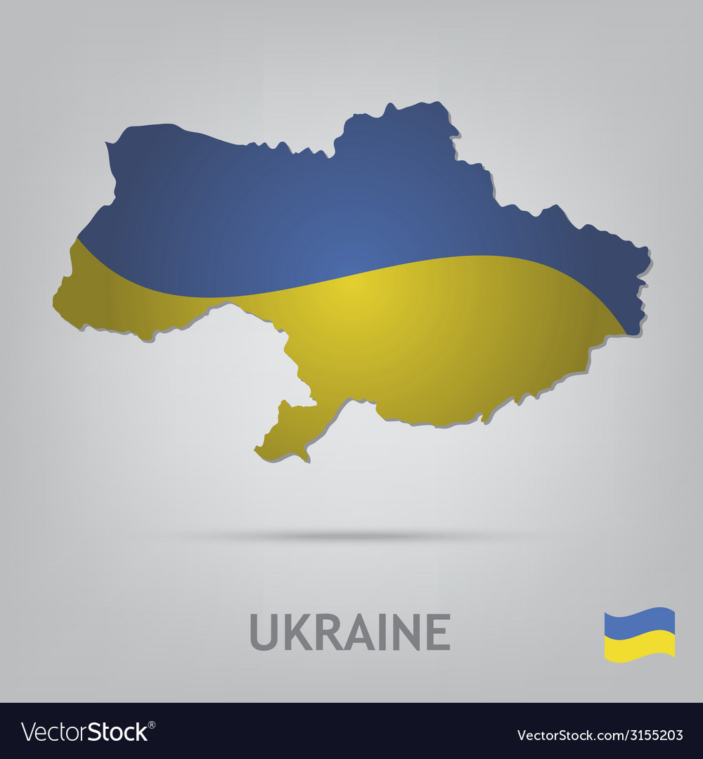 Ukraine vector | Price: 1 Credit (USD $1)