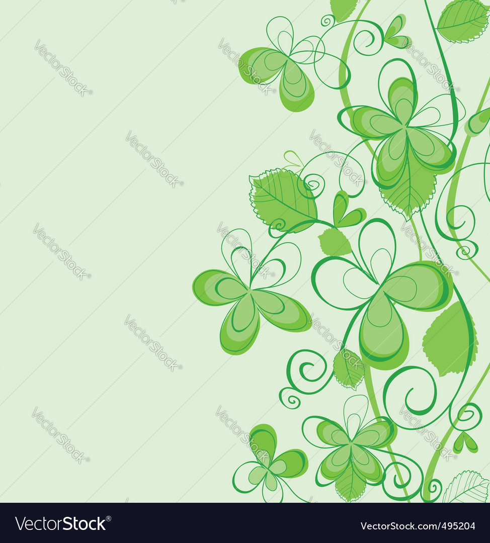 Abstract spring pattern vector | Price: 1 Credit (USD $1)
