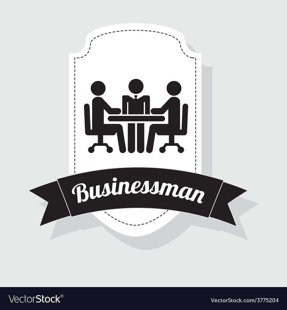 Businessman icon vector | Price: 1 Credit (USD $1)