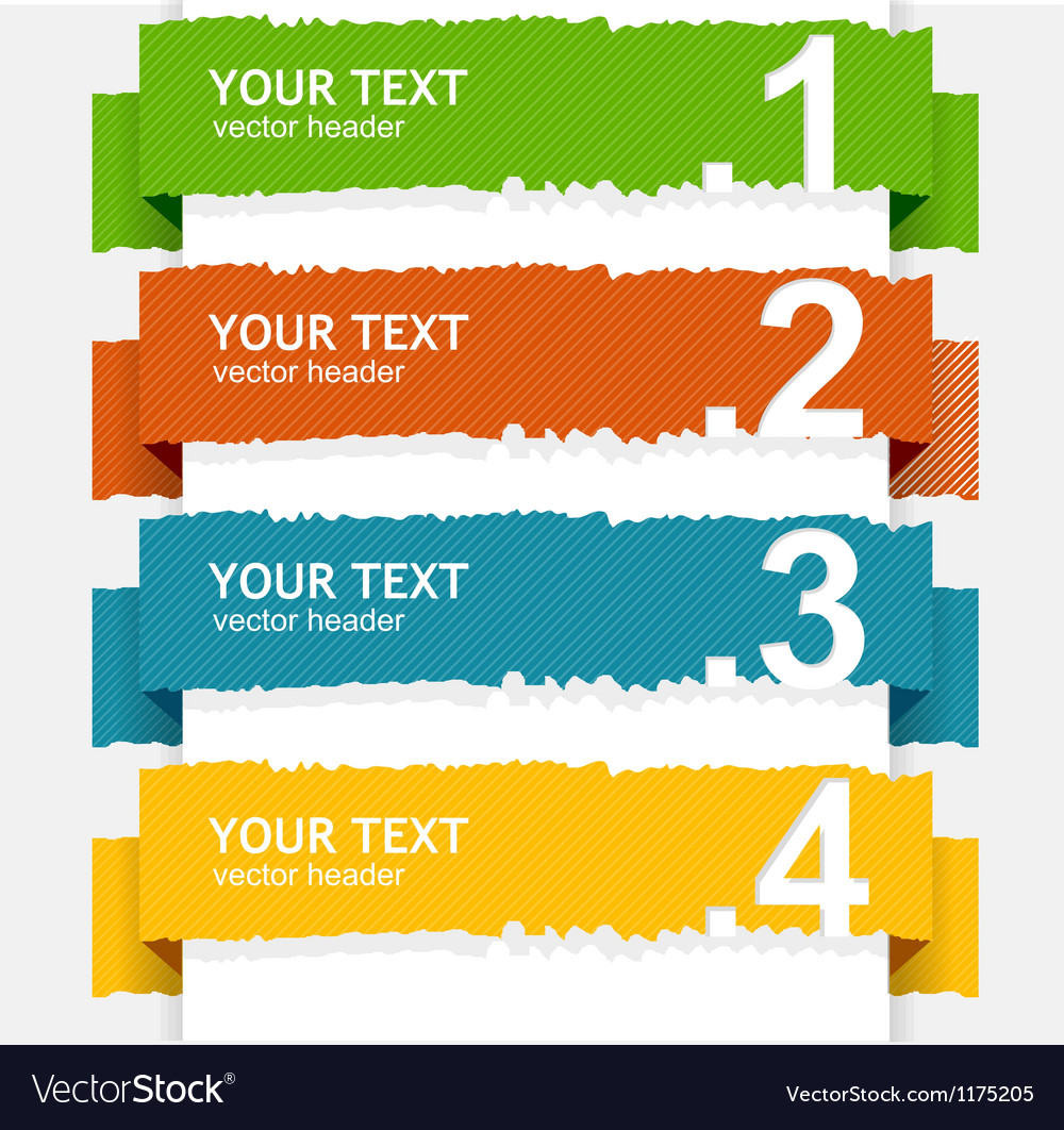 Colorful text box vector | Price: 1 Credit (USD $1)