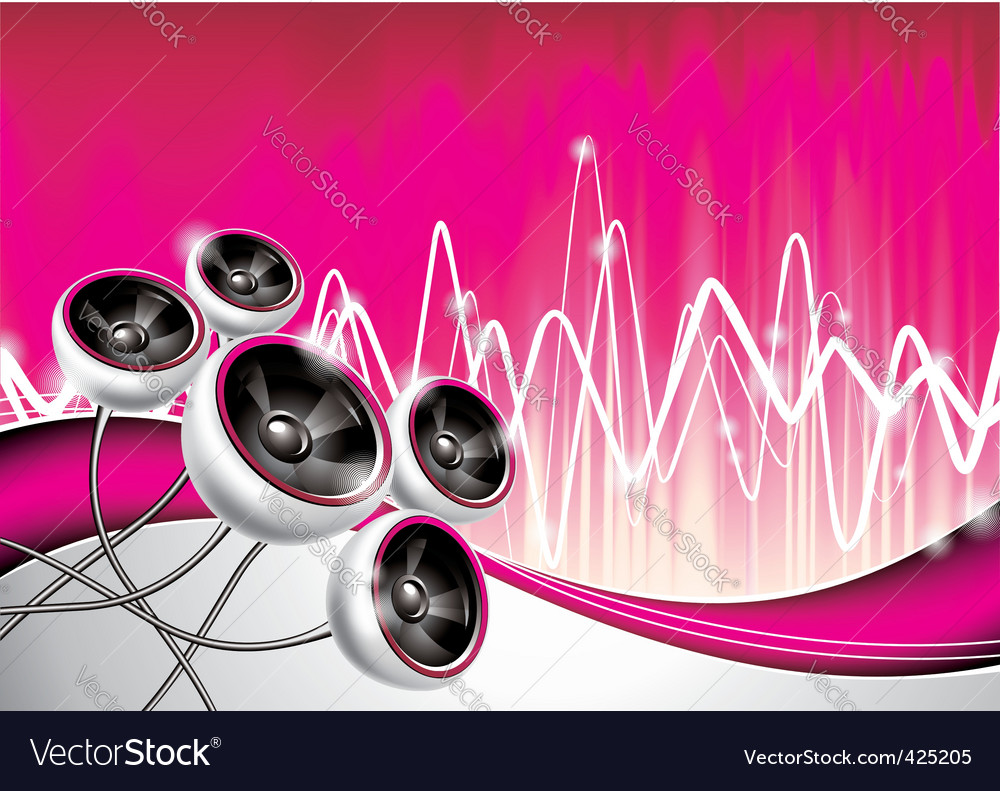 Music background vector | Price: 3 Credit (USD $3)
