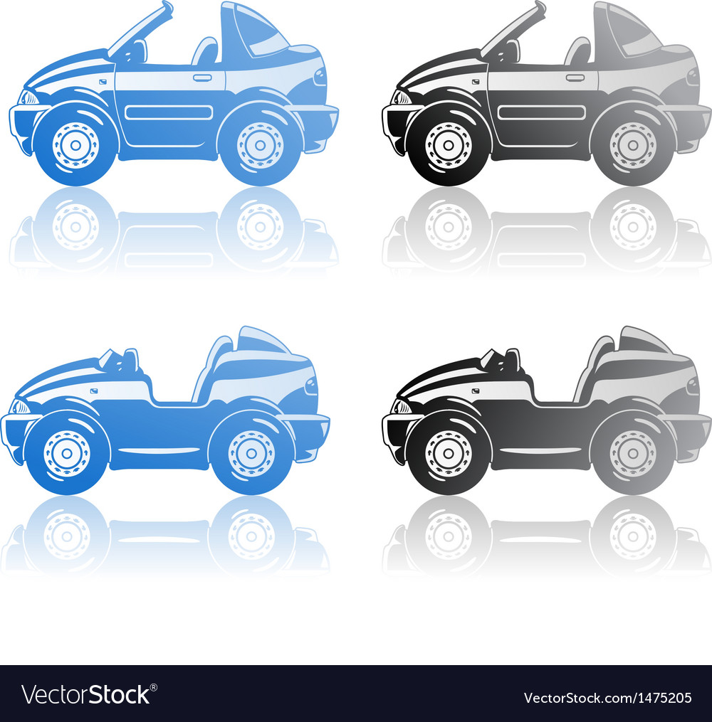 Roadster and targa vector | Price: 1 Credit (USD $1)