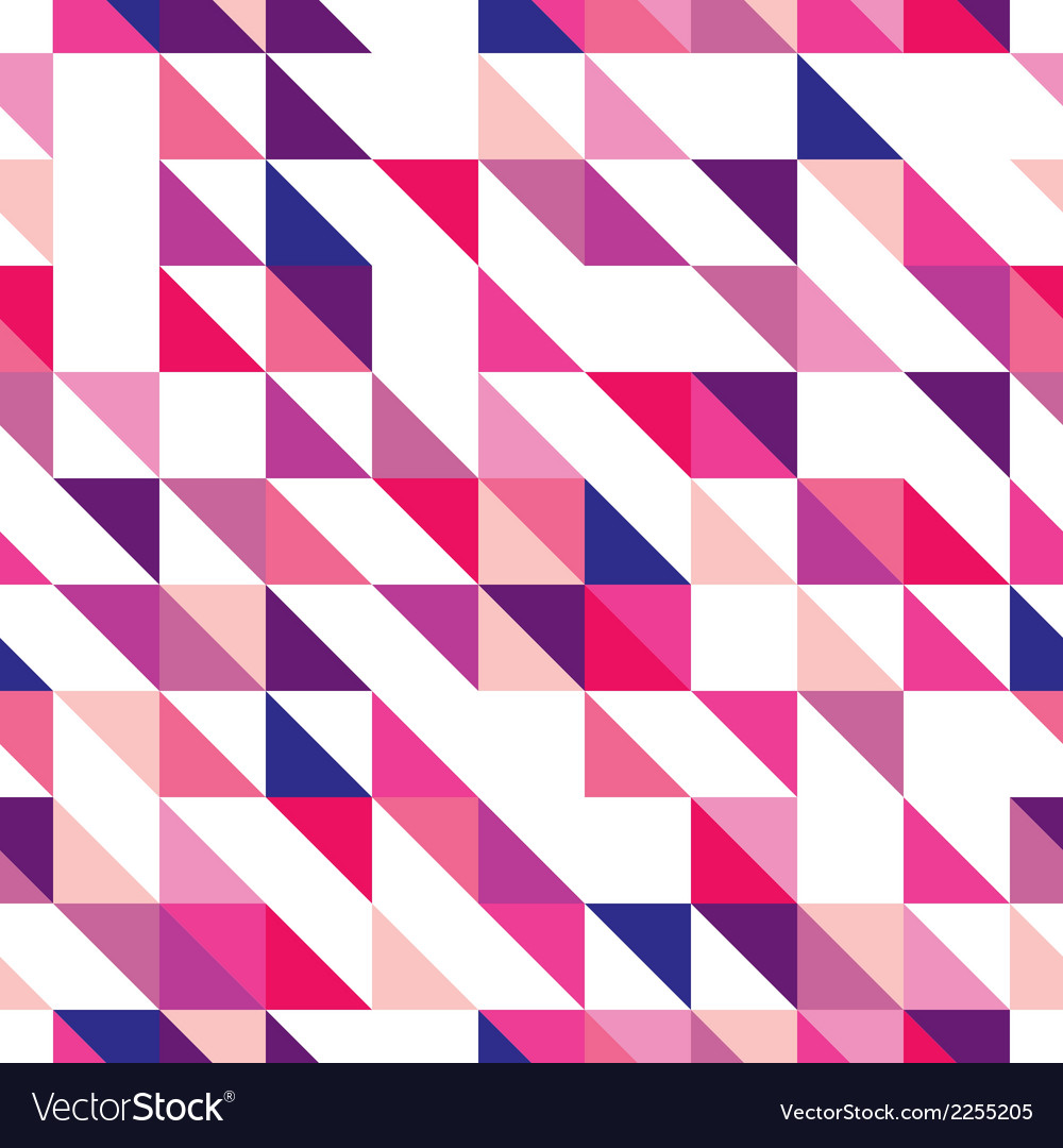 Tile triangle mosaic wrapping surface background vector | Price: 1 Credit (USD $1)